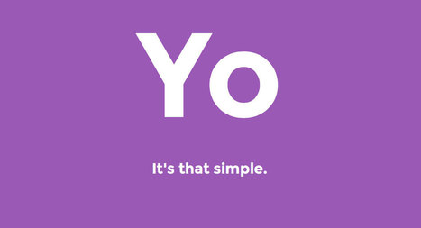 Yo Is the Perfect App For The iWatch, One New Feature Could Make It A Twitter-Killer | Technology | Scoop.it