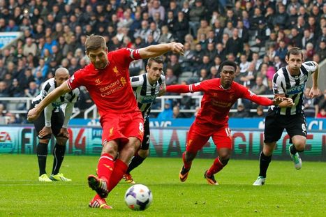 Watch all of Steven Gerrard's 100 Premier League goals for Liverpool - Mirror.co.uk | The latest soccer news | Scoop.it