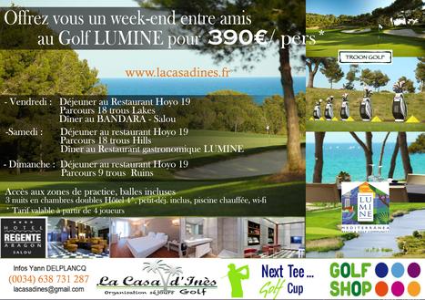 Golf en Espagne, golf LUMINE - Séjour à Salou | Costa Dorada : loisirs et activités | Scoop.it