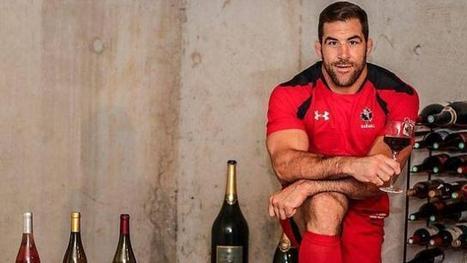 Insolite. Le bûcheron du rugby devenu vigneron   Le vin quotidien   Scoop.it
