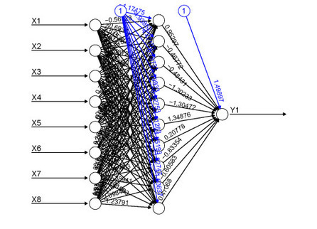 Visualizing neural networks in R – update | Data games | Scoop.it