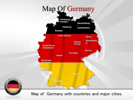 PowerPoint Template which Give You Overview of Germany Map | PowerPoint Maps | Scoop.it