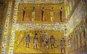 Antrophistoria: La pintura egipcia y la simbología de su color.   guia   Scoop.it