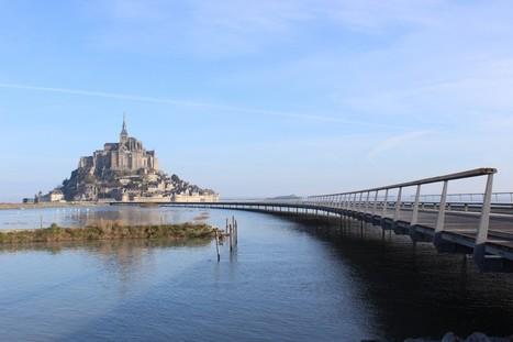 Le Mont-Saint-Michel s'offre un pont-passerelle | UrbaNews.fr | Cahier des Architectes | Scoop.it