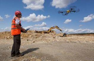 Caterpillar utilisera des drones français pour améliorer la productivité des chantiers | Une nouvelle civilisation de Robots | Scoop.it