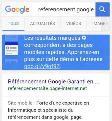 Google : Les pages AMP s'affichent dans les résultats organiques hors carrousel | Geeks | Scoop.it