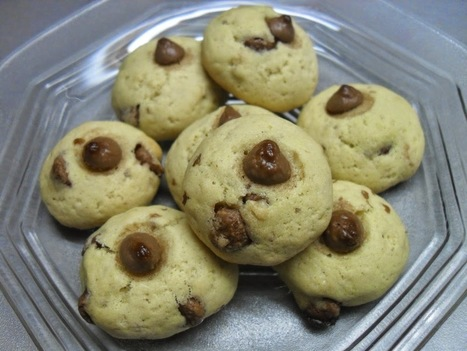 Milk Chocolate Chip Cookies ~ ibaketoday | IBakeToday | Scoop.it