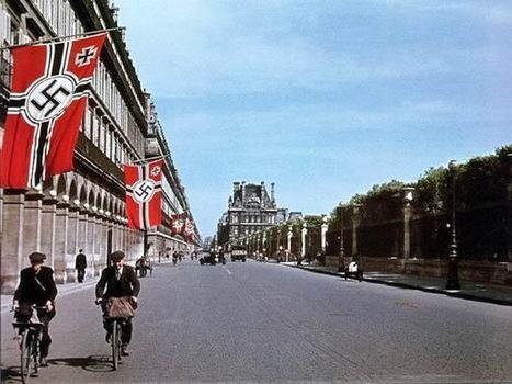 49 photos couleur de Paris sous l'occupation 1940-1944   L'actualité de l'argentique   Scoop.it