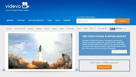 Videvo: 2700+ clips de vídeo livres para usar nos seus projetos | Tablets na educação | Scoop.it