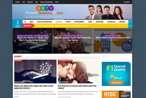 Hispanic Business TV | Showcase of custom topics | Scoop.it