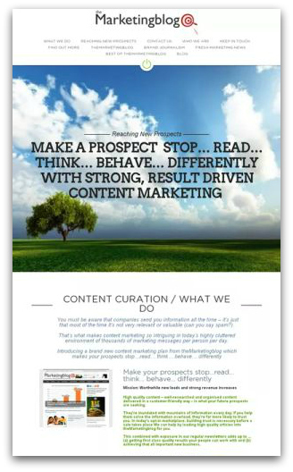 Make your prospects stop…read… think… behave… differently / Content Curation from theMarketingblog | Making Money Online As An Affiliate | Scoop.it