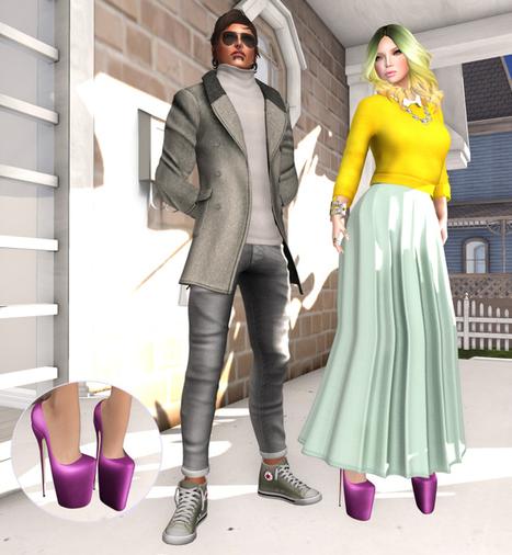 #192 @ Designer Circle & Hello Tuesday | Finding SL Freebies | Scoop.it
