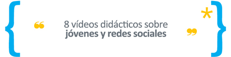 8 vídeos didácticos sobre jovenes y redes sociales | #REDXXI | Scoop.it
