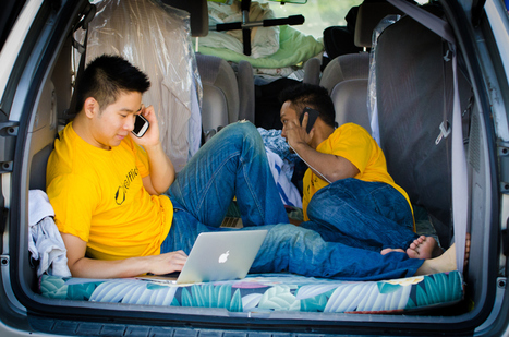 Startup hustle: Why two men decided to sleep together in a van for months on end | Startup Watch | Scoop.it