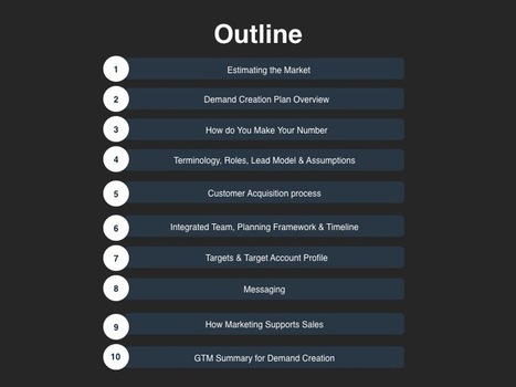 Go-to-Market Planning Templates, PowerPoint Based Marketing Template | Go To Market Powerpoint | Scoop.it