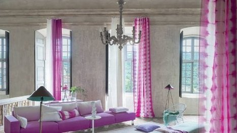[Inspiration] La tendance tie and dye s'empare de la déco | IMMOBILIER 2014 | Scoop.it