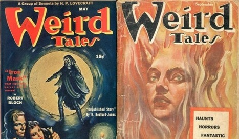 "Download Issues of ""Weird Tales"" (1923-1954): The Pioneering Pulp Horror Magazine Features Original Stories by Lovecraft, Bradbury & Many More 