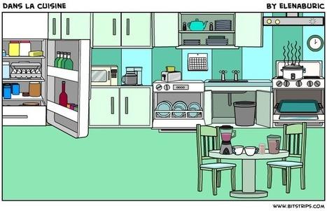 La classe de français: Dans la cuisine. Objets de la cuisine. Image à toucher | Le francais comme langue internationale | Scoop.it