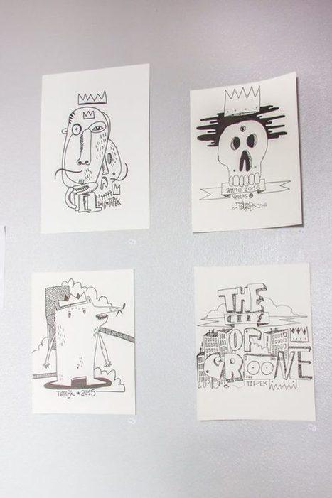Exposition au Studio Longboard à Hambourg | The art of Tarek | Scoop.it