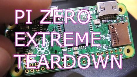 Raspberry Pi Zero Extreme Teardown #piday #raspberrypi @Raspberry_Pi #pizero | Raspberry Pi | Scoop.it