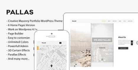 Download & Preview Pallas Creative MultiPurpose WordPress Theme | Download Premium WordPress Themes | Scoop.it
