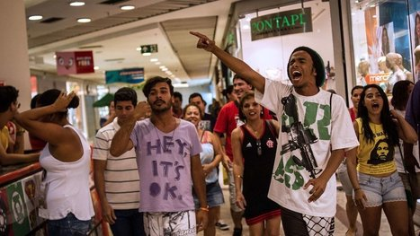 Brazil's Latest Clash With Its Urban Youth Takes Place at the Mall | Listening and Reading source for ESL classes | Scoop.it