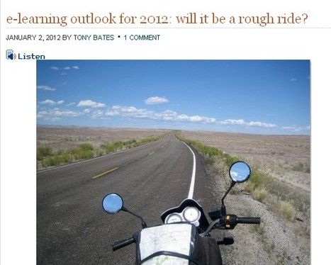 e-learning outlook for 2012: will it be a rough ride? | Inclusive teaching and learning | Scoop.it