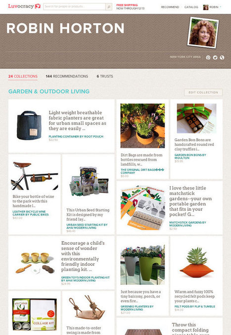 Luvocracy: Your Curated Social Personal Shopper   Urban Gardens   Unlimited Thinking For Limited Spaces   Urban Gardens   Grown Green Gardens   Scoop.it