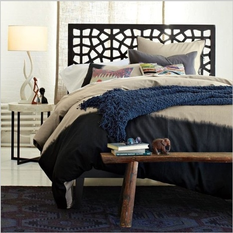 "Area rug at the foot of the Bed | Alexanian Carpet & Flooring - ""The World at Your Feet"" www.alexanian.com 
