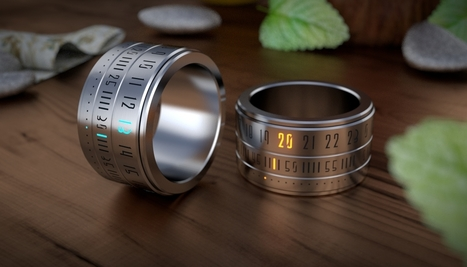 Ring Clock - The marriage of the ring and the watch | All things | Scoop.it