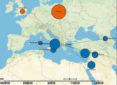 A Genetic Atlas of Human Admixture History (covers an era of 4000 years).-Ο πρώτος διαδραστικός χάρτης της ανθρώπινης γενετικής ιστορίας (καλύπτει περίοδο 4.000 ετών). | biosc&med | Scoop.it
