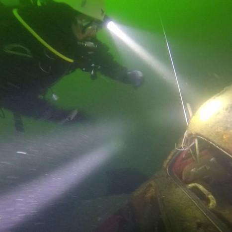 La carcassa di un Maggiolino nei fondali del lago Albano. Rinvenuto ... - Castelli Notizie | Immersioni nel mondo | Scoop.it