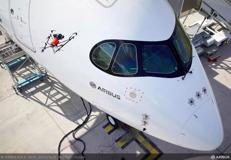 Airbus And Intel are Using Drones to Inspect Airplanes | Aviation & Airliners | Scoop.it