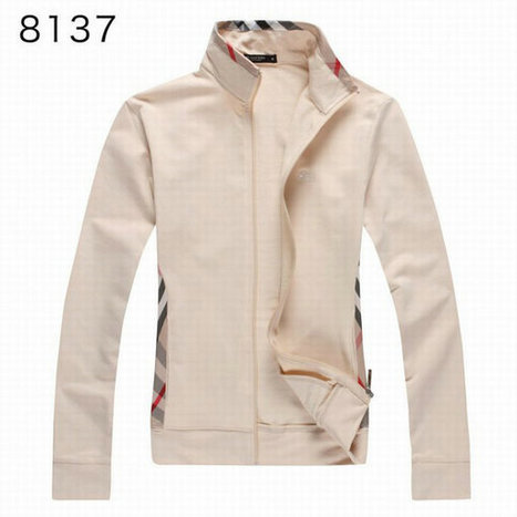 Burberry Long Sleeve Fleece Coats Sports Hoody For Girl Beige | Burberry Shirts mens and  womens | Scoop.it