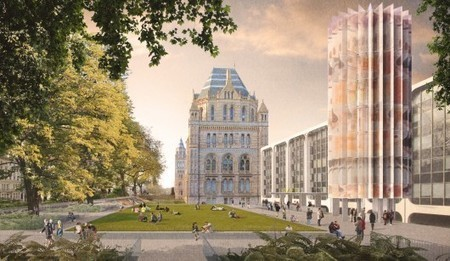Designs Unveiled for London's Natural History Museum Urban Redevelopment - ArchDaily | Digital Museums | Scoop.it