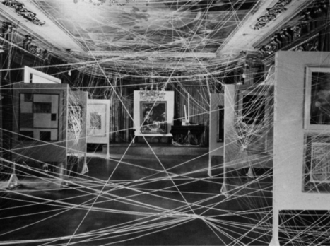 Marcel Duchamp: sixteen Miles of string | Art Installations, Sculpture, Contemporary Art | Scoop.it