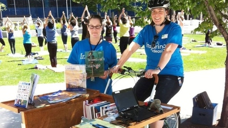 Like a Dickie Dee bike, but with books! Winnipeg's 'Book Bike' a mini-library on wheels | SocialLibrary | Scoop.it