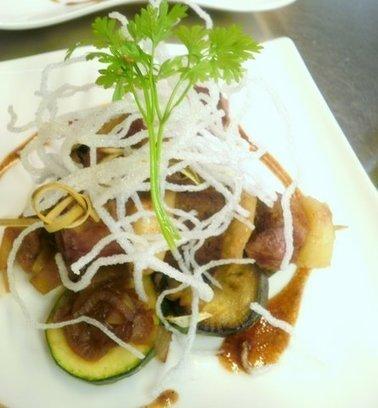 Recette de canard : brochettes à la banane et citron vert, tian de légumes - Essor | Cuisine et cuisiniers | Scoop.it