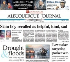 2013 was a very good year for strange statistics - ABQ Journal | Customer & Merchant | Scoop.it