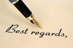 With Best Regards: Closing Your Letter | Multilíngues | Scoop.it