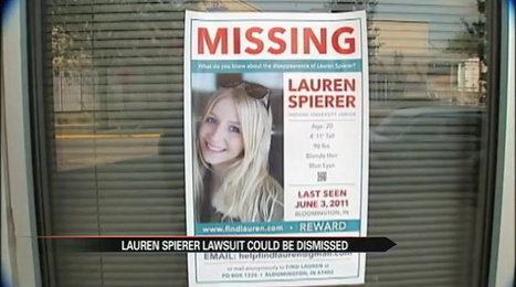 Lauren Spierer lawsuit could be dismissed | Lauren Spierer | Scoop.it