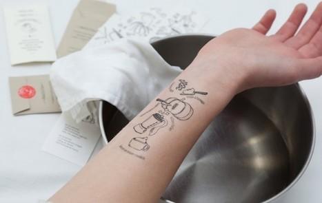 Des recettes à se tatouer sur les bras | Les nouvelles entreprises | Scoop.it
