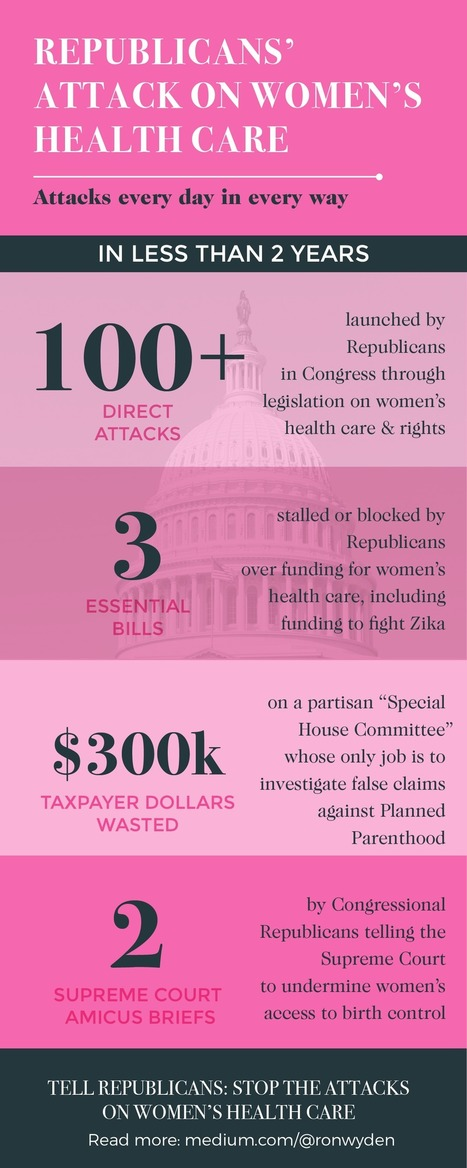 Every Day Congressional Republicans Attack Women's Health Care | Fabulous Feminism | Scoop.it