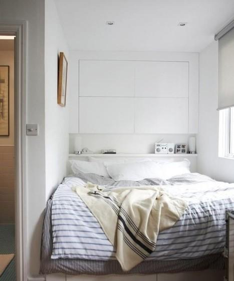 Tiết kiệm diện tích phòng ngủ nhờ lưu trữ thông minh ở đầu giường | Noi that | Scoop.it