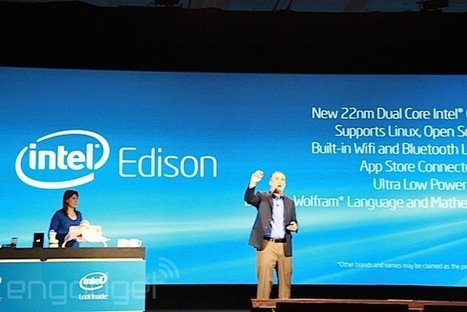 Intel announces Edison: a 22nm dual-core PC the size of an SD card | Global Brain | Scoop.it