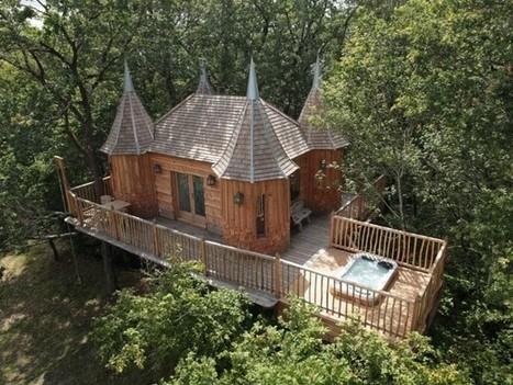 Châteaux dans les arbres   Périgord   Ma Maison Bois   Scoop.it