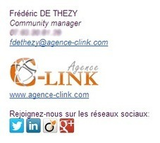 9 «To do» & 9 «Not to do» for an efficient signature of emails | Frédéric de Thezy - Blog | Scoop.it