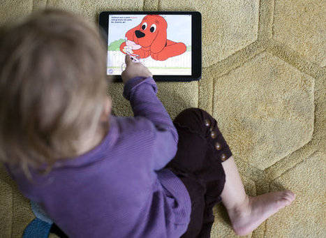 Is E-Reading to Your Toddler Story Time, or Simply Screen Time? | techyeah | Scoop.it