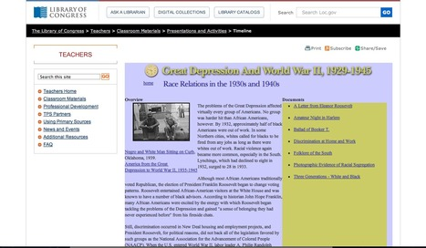 Historical Website #2 | African Americans during the 1930s | Scoop.it