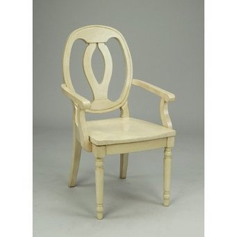 !@#   Arm Chair Color: Antique White AA Importing Antique White | Cheap Dinning Chairs | Scoop.it